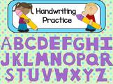 Handwriting Practice Flipchart for ActivInspire