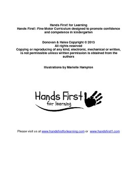 Hands First! Beginner Curriculum Digital Download