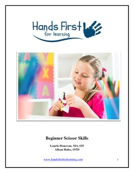 Hands First for Learning Easy Beginner Scissor Projects