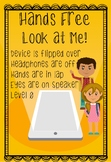 Hands Free Look at Me Poster
