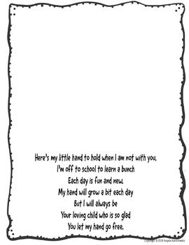 Hands Go Free Poem and Activity