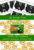 March Math File Folder Game - Hands Off Me Gold / St. Patrick's Day (Edition 3)