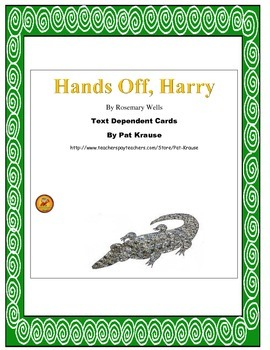 Hands-Off Harry!   Text Game