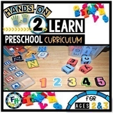 Hands On 2 Learn Preschool Curriculum GROWING BUNDLE