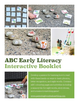 Hands-On ABC Literacy Printable Pack
