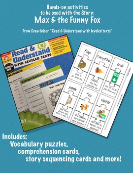 Hands On Activities for Max and the Funny Fox