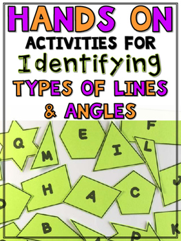 Types of Lines & Angles (ACUTE, OBTUSE, RIGHT, PERPENDICULAR, PARALLEL, ETC.)