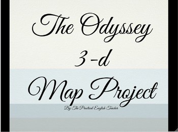 Hands-On Activity for The Odyssey: 3-D Map Project