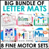 Hands-On Alphabet Mat Activities Bundle-Approved for Dista