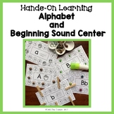 Hands-On Learning: Alphabet and Beginning Sound Center