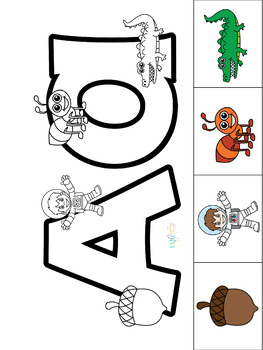 Hands-On Alphabet for Preschoolers