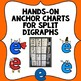Hands-On Anchor Charts For Split Digraphs in Queensland Beginners Font.