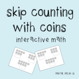 Skip Counting with Coins Interactive Basic Math