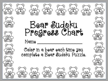 Hands-On 4x4 Bear Sudoku Puzzles - Set 1
