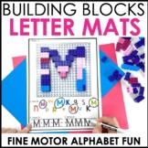 Hands-On Building Blocks Alphabet Centers