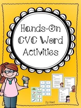 Hands-On CVC Word Activities