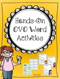 Hands-On CVC Word Activities
