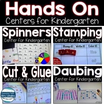 Hands On Centers for Kindergarten