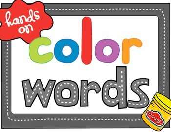 Hands On Color Words