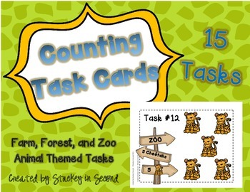 Hands-On Counting Task Cards
