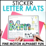 Hands-On Cover It Alphabet Centers