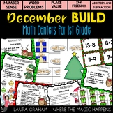 BUILD December Math Centers For First Grade