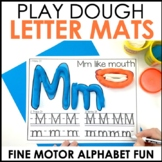 Hands-On Play Dough Alphabet Centers Mats