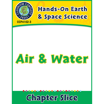 Hands-On - Earth & Space Science: Air and Water Gr. 1-5