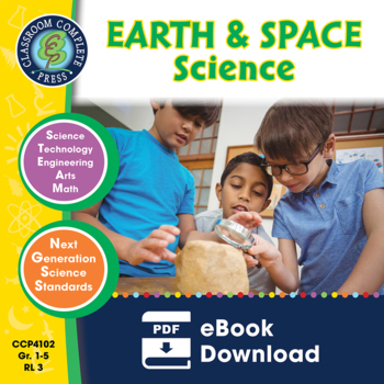 Hands-On STEAM - Earth & Space Science Gr. 1-5