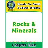 Hands-On STEAM - Earth & Space Science: Rocks and Minerals Gr. 1-5