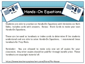 Hands-On Equations