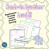 Hands-On Equations: Level III