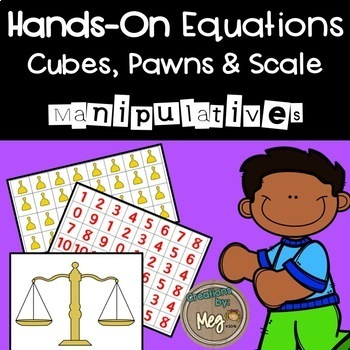 Hands On Equations Manipulatives