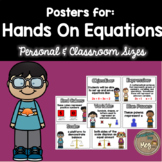 Intro to Hands On Equations - Posters For the Classroom