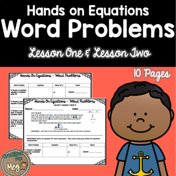 Hands On Equations Word Problems