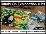 Hands-On Exploration Tubs (Fine Motor + Morning Work)