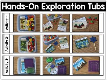 Hands-On Exploration Tubs (Fine Motor, Morning Work, Morning Tubs)