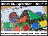 Hands-On Exploration Tubs PART TWO (Fine Motor, Morning Wo
