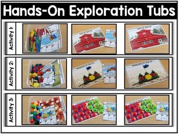 Hands-On Exploration Tubs *SEASONAL* (Fine Motor, Morning Work, Morning Tubs)