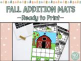 Hands-On Fall Math Mats