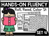 Hands-On Fluency Bundle Part 4: Roll, Read, Color It