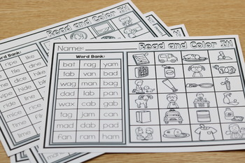 Hands-On Fluency Bundle Part 6: Read and Color It