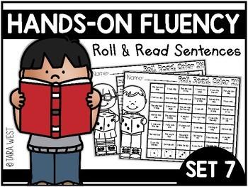 Hands-On Fluency Bundle Part 7: Roll and Read Sentences