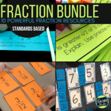 Hands On Fraction Bundle:  10 Hands On Fraction Resources