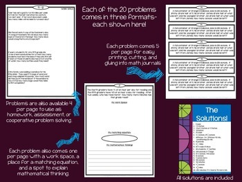 Hands On Fraction Bundle:  3 Critical Thinking Fraction Resources for Grades 4-5