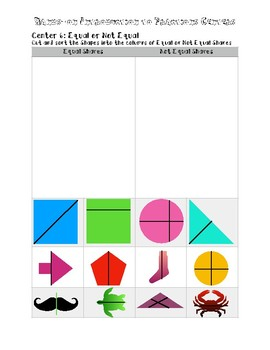 Hands-On Fraction Centers