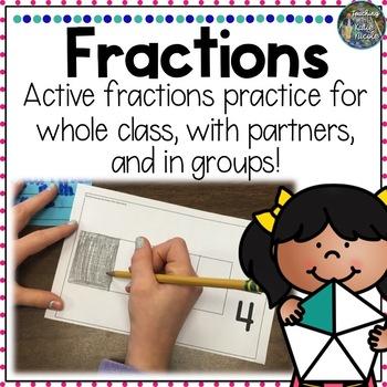 Hands-On Fractions Practice