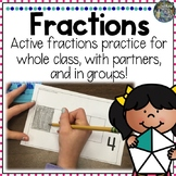 Hands-On Fractions Practice