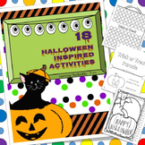 Halloween Hands On Centers for Math and Literacy