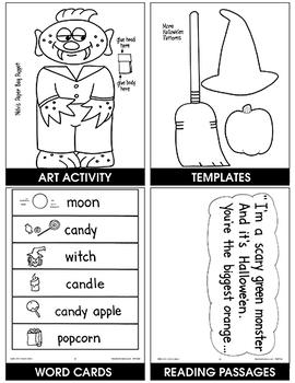 Hands-On Halloween: Melvis Monster Gr. 1-2